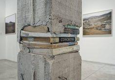 Artwork by Peruvian artist Ishmael Randall-Weeks, Escombrosos, 2014, installation view at Arróniz Arte Contemporáneo in Mexico.