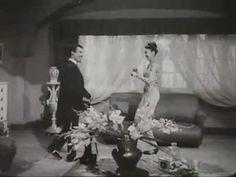 Graciosos Tin Tan y Cubana Vitola en El Rey del Barrio bailando Mambo. Comediantes del cine Mexicano