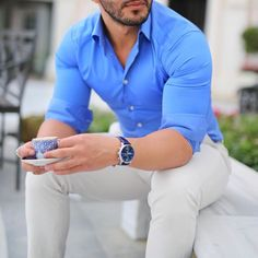 Mens fashion Urban Work - - Mens fashion Trendy Outfit - Mens fashion Suits Plus Size Formal Dresses For Men, Formal Men Outfit, Outfits Casual, Stylish Mens Outfits, Mode Outfits, Men Casual, Formal Shirts For Men, Smart Casual, Trendy Mens Fashion