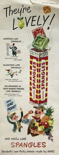And the last of the Spangles Adverts