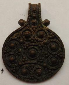 Women's pendant amulet. Vikings, X-XI cc.