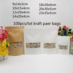 Kraft Packaging, Candy Packaging, Cheap Gift Bags, Kraft Bag, Christmas Gift Bags, Business Outfits, Festival Party, Kraft Paper, Artisanal