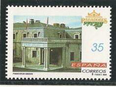 España - Spain filatelia: PARADORES DE TURISMO 1998 - GREDOS