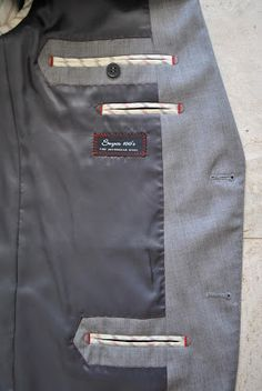 Pockets on the inside -- for my boy's jacket