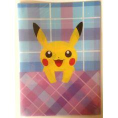 Pokemon Center 2013 Peeking Pokemon Campaign Pikachu A4 Size Clear File Folder