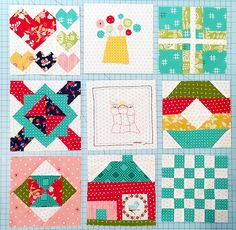 Sewing Along with the Splendid Sampler - March