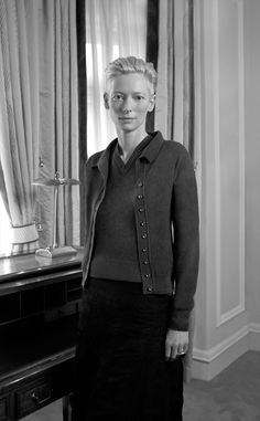 Tilda Swinton for Pringle