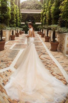 Crystal Design Solange - The Blushing Bride boutique in Frisco, Texas
