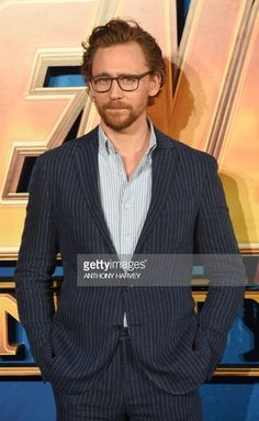 Tom Hiddleston at the Avengers Infinity War Fan Event London 8.4.2018 Via Getty Images