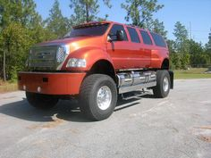 Custom Ford F650 XUV Suv Trucks, Truck Camper, Cool Trucks, Ford F650, Future Trucks, Sexy Cars, My Ride, Cars And Motorcycles, Dream Cars