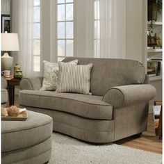 Perfect Deep Couches Living Room Ashendon Chair and a Half Fabric: Grandstand Fawn living Living Room Sets, Living Room Chairs, Living Room Furniture, Transitional Chairs, Deep Couch, Chair And A Half, Upholstered Dining Chairs, Arm Chairs, Upholstering Chairs