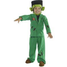 Monster Costume, Toddler, Green
