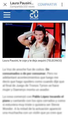 Sabemos q Laura Pausini busca novio... ... ¿Pero hacía falta un titular así?  XDDD