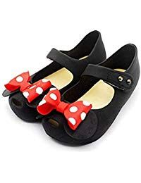 eb44fe3fec17c Girls Sweet Mary Jane Flat Princess Sandals Jelly Shoes Toddler Kids ...