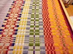 Image result for overshot weaving on a 4 harness table loom