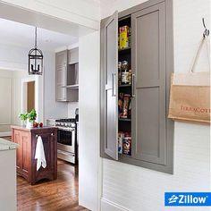 Built in pantry!