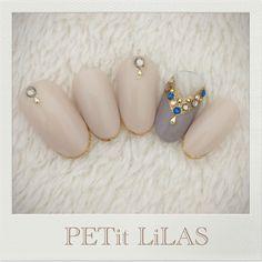 PETit LiLAS #nailart#bridal#