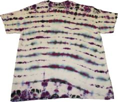 Purple & Black TieDye handmade tshirt Tee large by SteezyWorkz, $17.00