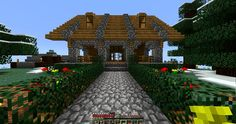 awesome minecraft houses | Minecraft cool house | Minecraft-Gold.com