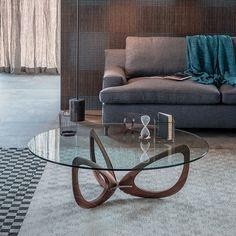 Cattelan Italia Helix coffee table by Piero De Longhi