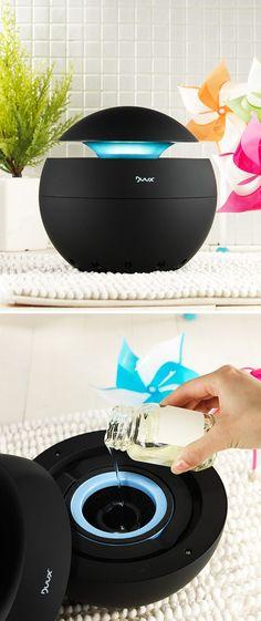 Air Purifier + Soothing Aromatherapy Vaporizer // #nightlight