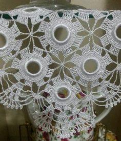 Crochet Baymax - Meet 'Hulk': The Giant Family Pit Bull Cotton Crochet, Crochet Doilies, Crochet Flowers, Crochet Lace, Crochet Stitches, Crochet Patterns, Crochet Skirts, Wedding Fabric, Crochet Fashion