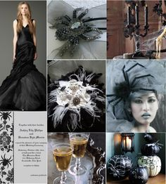 Wedding Wednesday: A Spooky Yet Elegant Halloween Wedding Theme