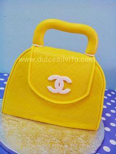 Dulce Silvita: Tarta Bolso Chanel