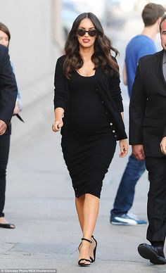 Pregnancy becomes her: The brunette beauty promoted Teenage Mutant Ninja Turtles: Out Of The Shadows while pregnant with Journey