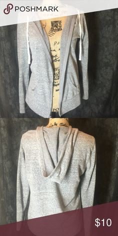 Gray lightweight hoodie Size small gray lightweight hoodie Tops Sweatshirts & Hoodies