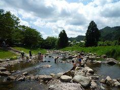羽束川(三田市野外活動センター) - 関西を中心に子供とおでかけした海水浴、プール、水遊び、川遊びの場所