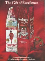 Beefeater Gin Fifth 1970 Ad Picture