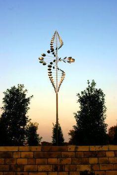 Kinetic Wind Sculpture • by Lyman Whitaker