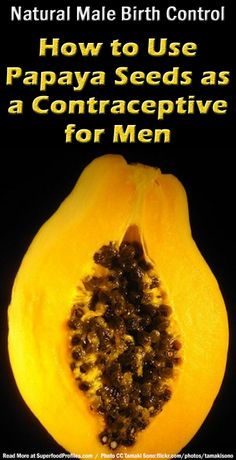 How to use papaya seeds as a male contraceptive, supporting scientific research, potential precautions and the simplest way to add papaya seeds to your diet http://superfoodprofiles.com/natural-male-birth-control-papaya-seeds-contraceptive-men
