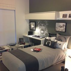 Teen Boy Bedroom Design Ideas, Pictures, Remodel, and Decor - page 39
