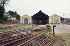 Estação Ferroviária de São Felix - trilhos