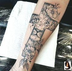 tattoos for women large Arm Sleeve Tattoos, Sleeve Tattoos For Women, Forearm Tattoos, Hand Tattoos, Tattoo Arm, Skull Tattoos, Finger Tattoos, Lamb Tattoo, Lion Hand Tattoo