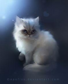 иллюстрации кошек от Rihards Donskis
