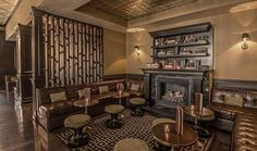 The Big Chicago 10: Hottest Spots To Enjoy A Fireplace: Drumbar