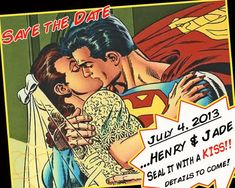 save the date super heroes - Cerca con Google