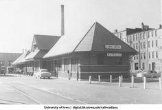 Waterloo Iowa rr depot