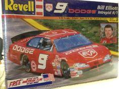 Revell Bill Elliott Ray Evernham #9 DODGE NASCAR 1/24th Model  2001 Sealed #RevellMonogram