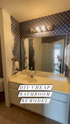 Small Bathroom, Bathroom Ideas, Bathroom Inspo, Bathroom Organization, Organization Ideas, Interior Design Tips, Bathroom Interior Design, Home Renovation, Home Remodeling