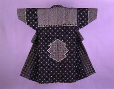 Sashiko Coat  - Click to return to the descriptive information