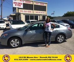 Congratulations to Nacole Edinbyrd on your #Nissan #Altima purchase from Fidel Rodriguez at Auto Center of Texas! #NewCar