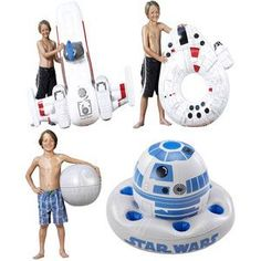 I LOVE IT! WANT THEM ALL MULTIPLE TIMES! #StarWars Inflatables