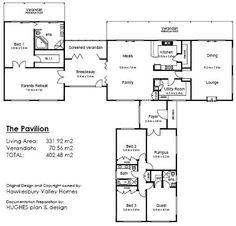 1000 images about house plans rural estate on pinterest for Pavillion home designs australia