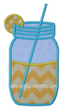 Jar Applique Design