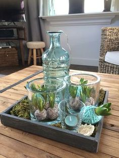 The holidays are over . but how can I decorate my house? - Diy Fall Decor - The holidays are over … but how can I decorate my house? – Diy Fall Decor The holidays are over … but how can I decorate my house? Deco Floral, Bulb Flowers, Floral Arrangements, Fall Decor, Diy Home Decor, Diy And Crafts, Table Decorations, Spring, Plants