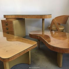Gilbert Rohde Paldao group coffee table desk  Herman Miller Coffee Table Desk, Mid Century Modern Design, Herman Miller, Corner Desk, Mid-century Modern, Group, Glass, Furniture, Home Decor